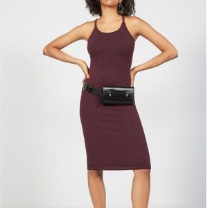 Leith Mèlange Body-Con Dress